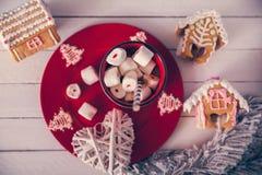 Desserts de Noël images libres de droits