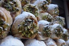 Desserts de souffle photo stock