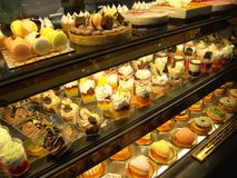 Dessert shop royalty free stock photos