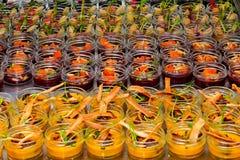 Desserts doux Photos libres de droits