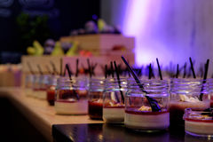 Desserts doux Image libre de droits