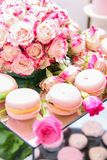 Desserts et gâteaux Image stock