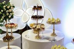 Desserts et gâteaux Photos libres de droits