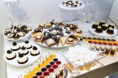 Desserts et gâteaux Photographie stock