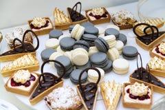 Desserts et gâteaux Images stock