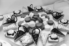 Desserts et gâteaux Image libre de droits