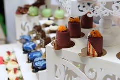 Desserts et gâteaux Photos stock