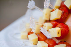 Desserts and Food Royalty Free Stock Image