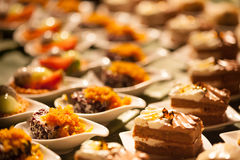Desserts and Food Stock Photo