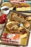 Desserts français Image libre de droits