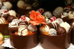 Desserts miniatures de mariage. Photo libre de droits