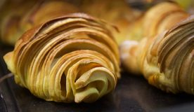 &Desserts portoghesi tradizionali della pasticceria Fotografia Stock Libera da Diritti