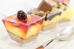 Desserts Stock Images