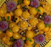 Desserts thaïs image stock