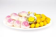 Desserts thaïs Photographie stock libre de droits