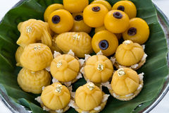 Desserts thaïs image libre de droits