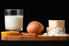 Dessertsingrediënten Stock Afbeelding