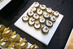 Dessertsnoepjes Stock Foto