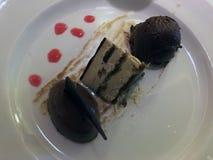Desset de chocolats d'arbre pour le dîner images libres de droits