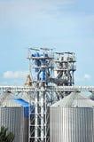 Dessiccateur de grain de port photographie stock libre de droits