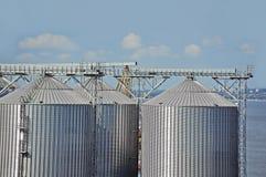 Dessiccateur de grain de port images libres de droits