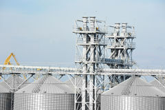 Dessiccateur de grain de port photos stock