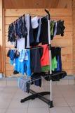 Dessiccateur de vêtements photo libre de droits