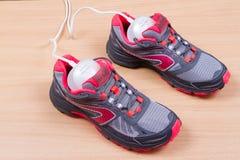 Dessiccateur et espadrilles ultra-violets électriques de chaussure Photo stock