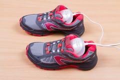 Dessiccateur et espadrilles ultra-violets électriques de chaussure Photos libres de droits