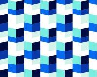 Dessin abstrait de fond avec les courses répétées créant un effet optique et hypnotique illustration stock
