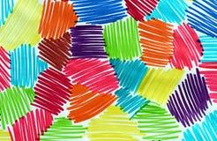 Dessin abstrait de marqueur photo stock