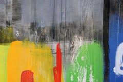 Dessin abstrait sur le mur, art de rue image stock