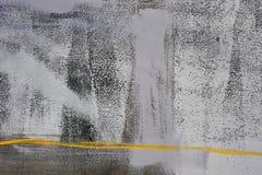 Dessin abstrait sur le mur, art de rue images stock