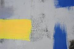 Dessin abstrait sur le mur, art de rue images libres de droits