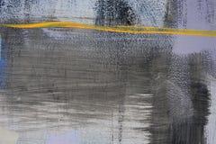 Dessin abstrait sur le mur, art de rue photographie stock