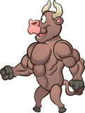 Dessin animé Bull illustration stock