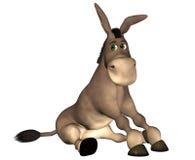 Dessin animé d'âne illustration libre de droits