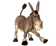 Dessin animé d'âne illustration stock
