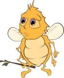 Dessin animé d'abeille illustration stock