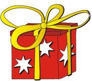 Dessin animé de cadeau Photos libres de droits