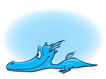 Dessin animé de dragon Photo stock