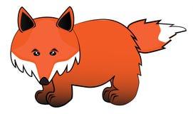 Dessin animé de Fox Image libre de droits