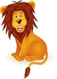 Dessin animé drôle de lion Photos libres de droits