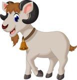 Dessin animé drôle de chèvre Images libres de droits