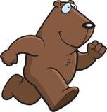 Dessin animé Groundhog Image libre de droits