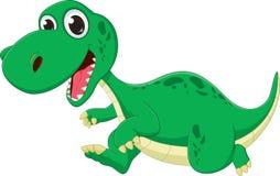 Dessin animé mignon de dinosaur Images libres de droits