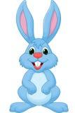 Dessin animé mignon de lapin illustration libre de droits