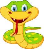 Dessin animé mignon de serpent Photo libre de droits