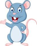 Dessin animé mignon de souris Image stock