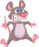 Dessin animé mignon de souris Image libre de droits